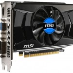 Видеокарта MSI GeForce GT 740