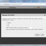 подключение CD в облаке VMware